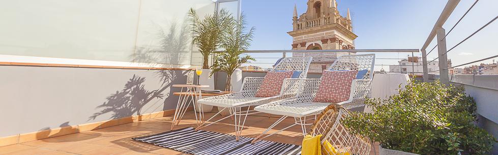 Apartments rental in valencia caballeros tico spain for Oficinas prop valencia